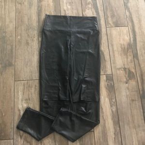 Black spandex dress pant
